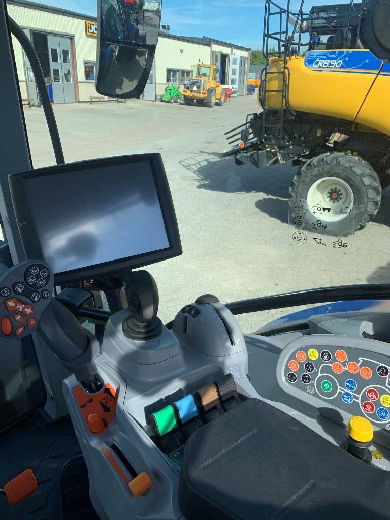 New Holland T 6.180 AutoCommand Omg.lev!, Traktorer, Lantbruk