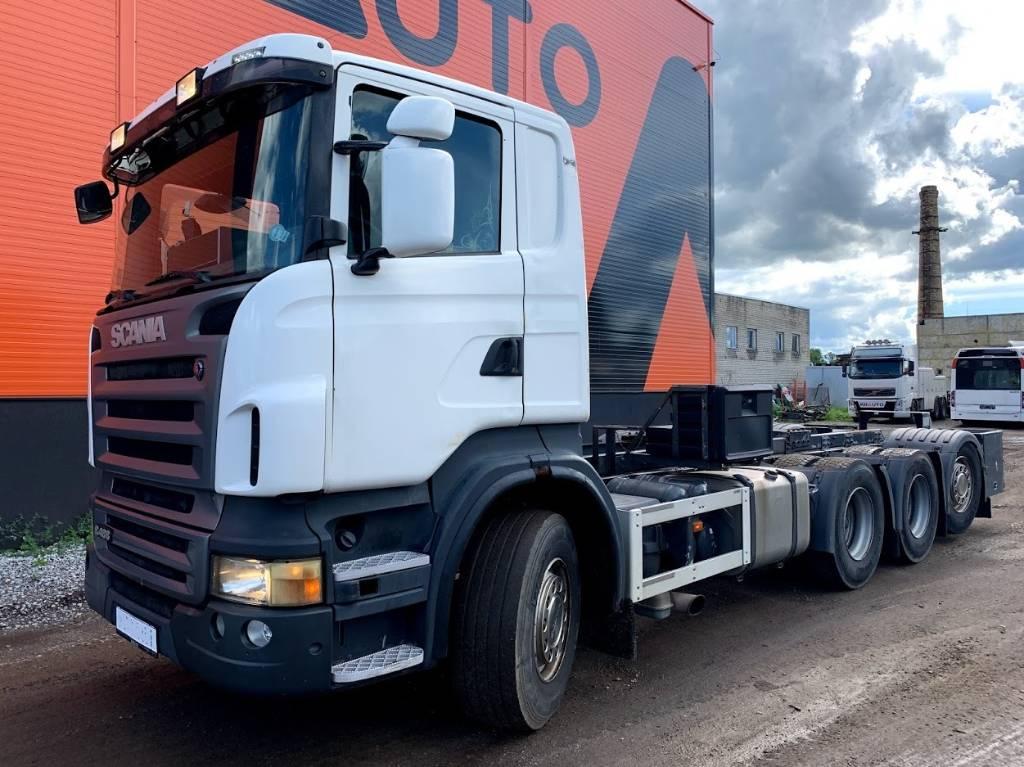 Scania R 480 8x4 Manual, Retarder Euro 5, Cab & Chassis Trucks, Trucks and Trailers