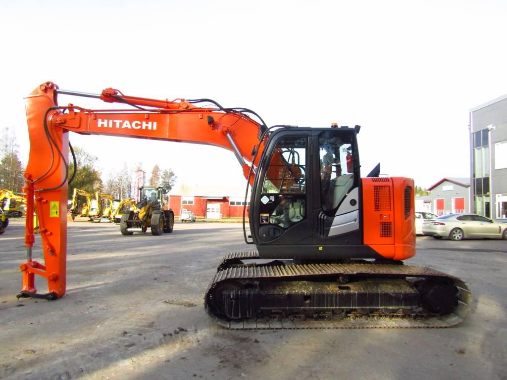 Hitachi ZX135US 5-B, Telakaivukoneet, Maarakennus