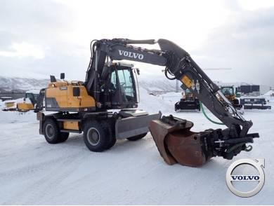 Volvo EW 140 D, Wheeled Excavators, Construction Equipment