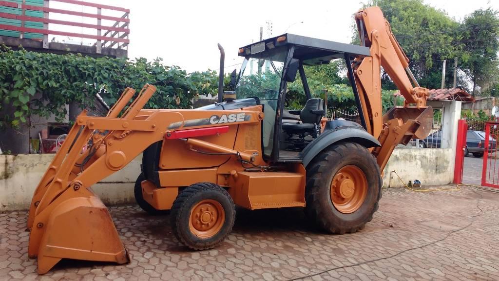 Case 580M, Backhoe Loaders, Construction Equipment