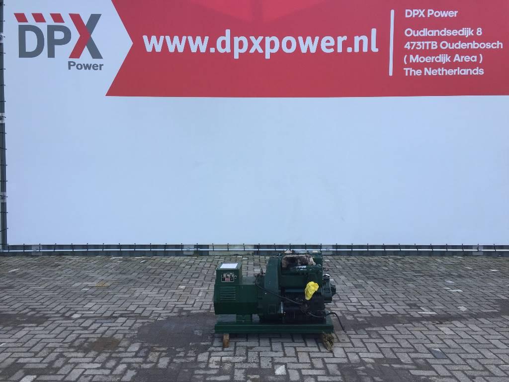 Lister Petter TR3 - 20 KVA Generator - DPX-11061, Diesel generatoren, Bouw