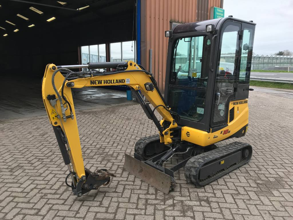 New Holland E18B, Voorladers en gravers, All Used Machines