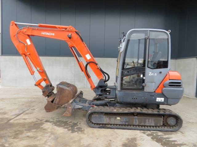 Hitachi ZX 50, Mini excavators < 7t (Mini diggers), Construction
