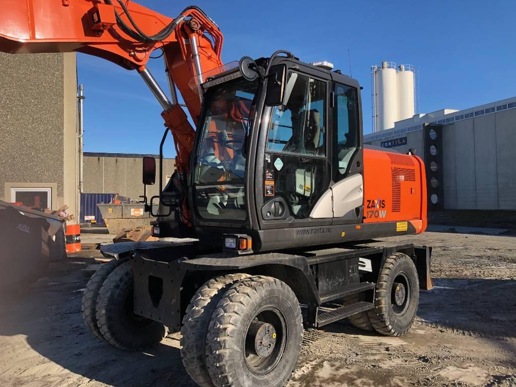 Hitachi ZX170WT-5, Wheeled Excavators, Construction Equipment