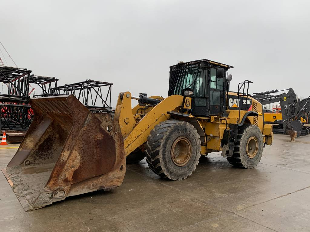 Caterpillar 950 K, Wheel loaders, Construction