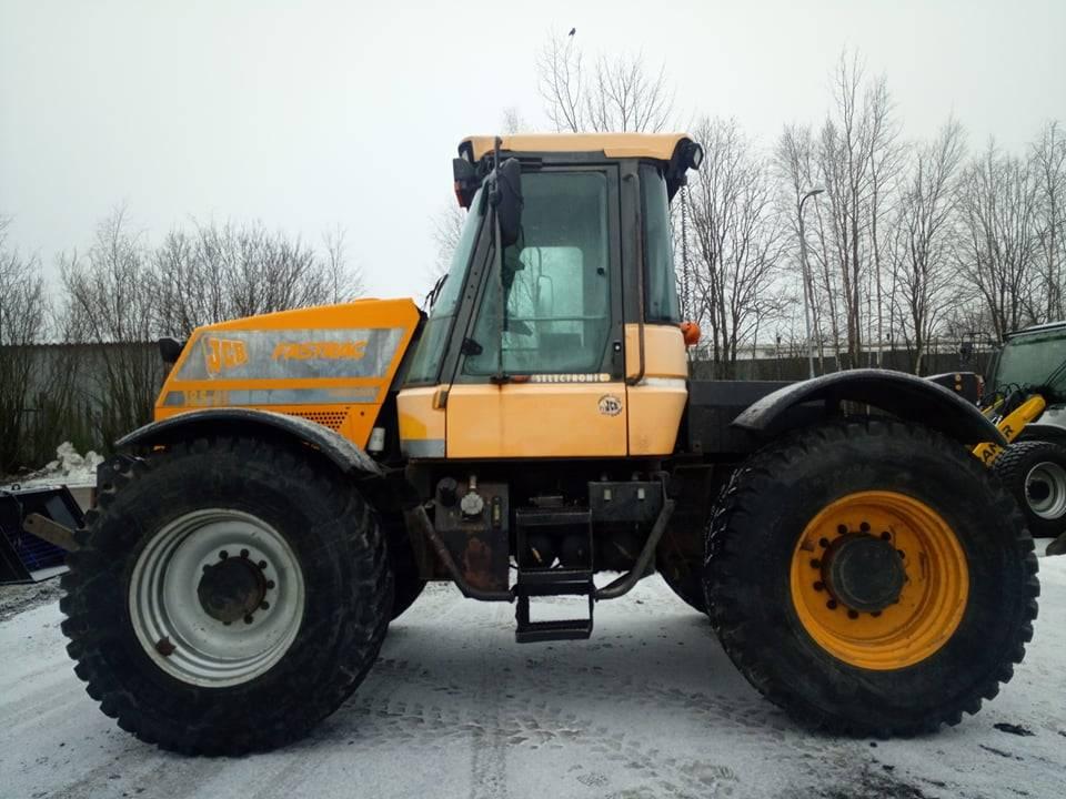 JCB Fastrac 185-65, Traktorit, Maatalous