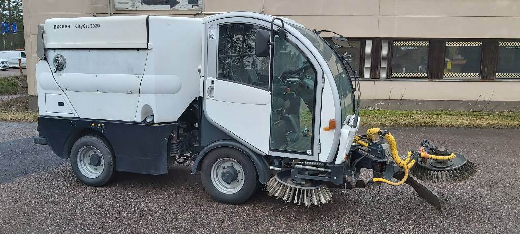 Bucher CityCat 2020 XL, Lakaisukoneet, Ympäristökoneet