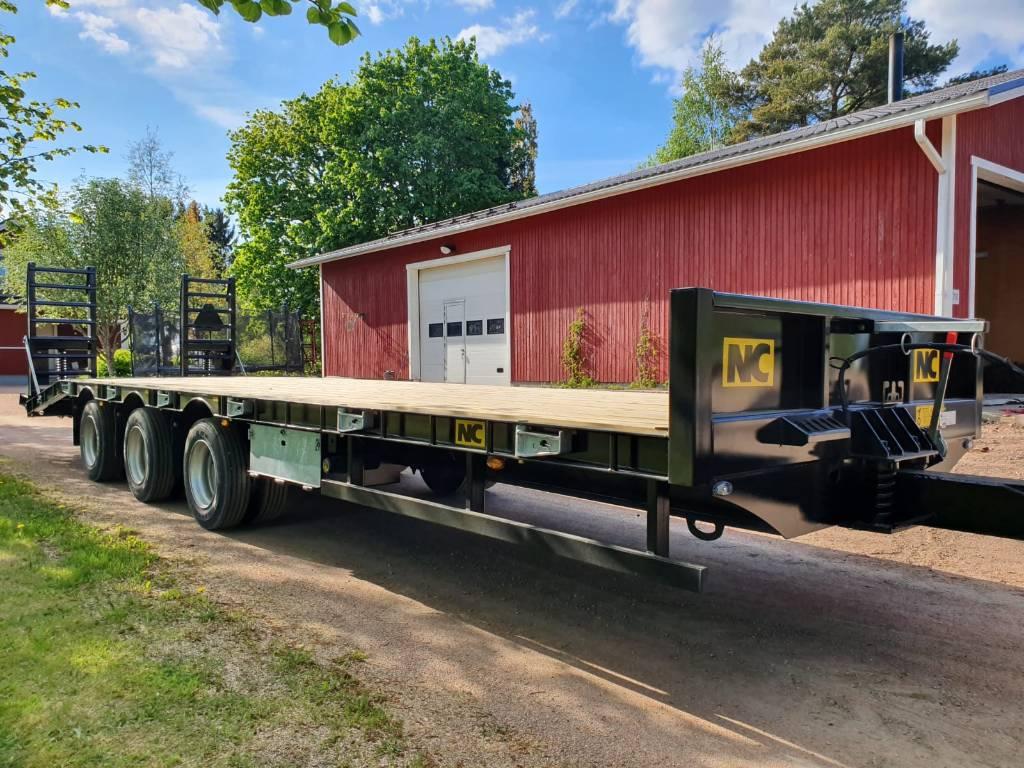NC 22tn Pitk ä traktorilavetti, Muut perävaunut, Maatalous