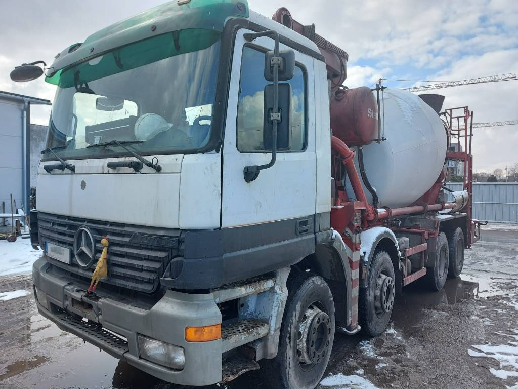 Mercedes-Benz 3240, Gruszki do betonu, Transport