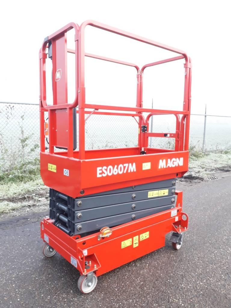 Magni ES 0607 M, Schaarhoogwerkers, Bouw