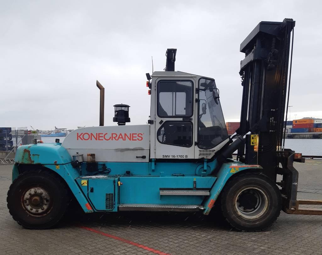 SMV 16-1200B, Dieseltrukit, Materiaalinkäsittely
