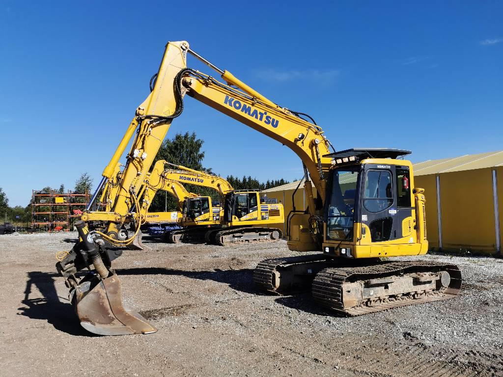Komatsu PC138US-11, Crawler excavators, Construction