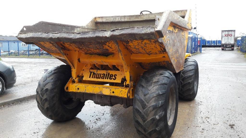 Thwaites 9 tonne, Site dumpers, Construction