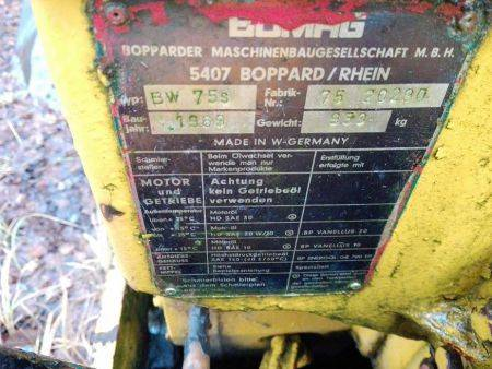 Bomag Bw 75 Walk Behind Double Drum Vibrat Roller Hydraulic Schematics And Circuit Diagrams Manual