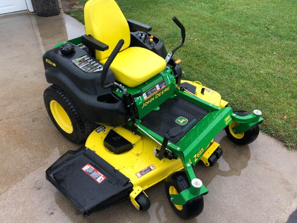 John Deere Z665, Zero turn mowers, Turfcare