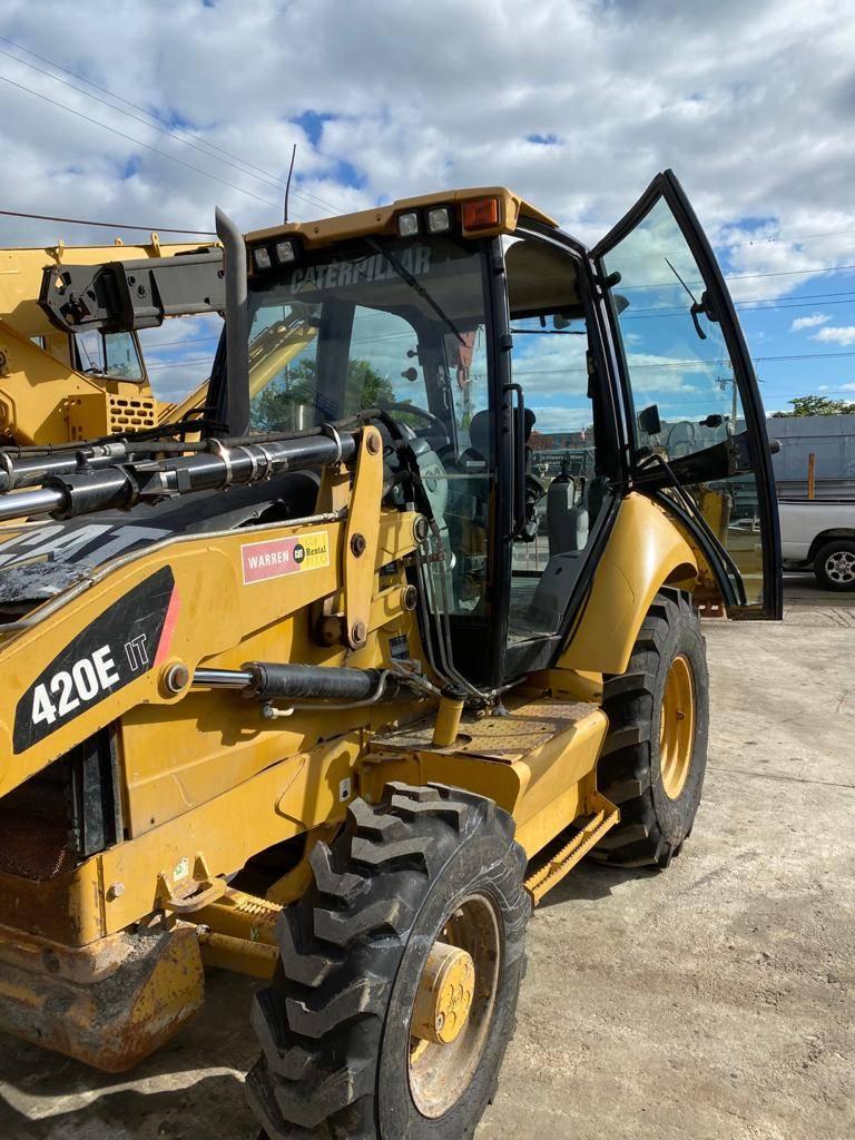 Caterpillar 420E IT, Backhoe Loaders, Construction Equipment