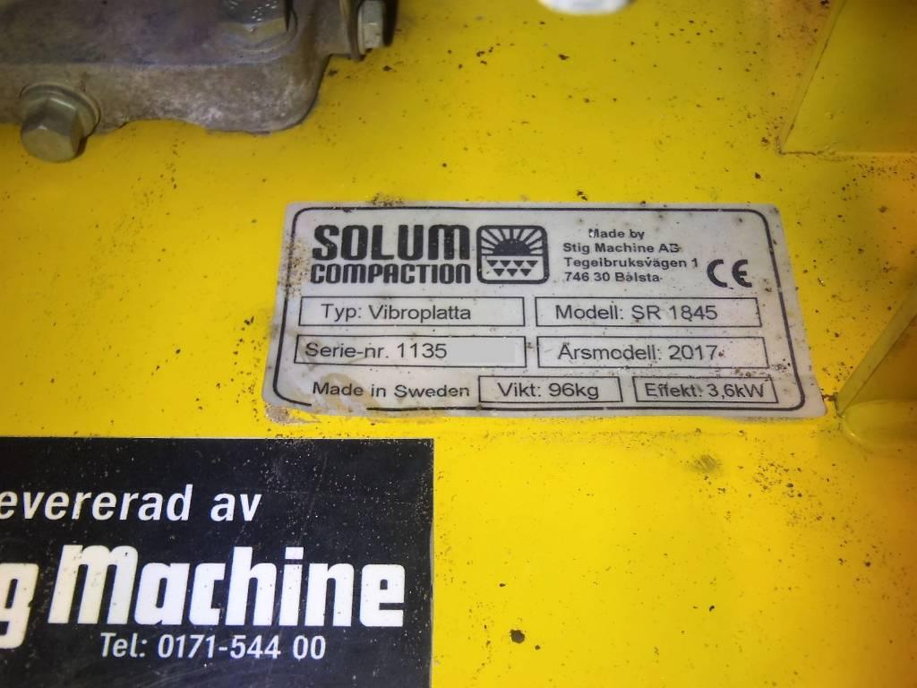 [Other] SOLUM SR1845, Vibratorer, Entreprenad