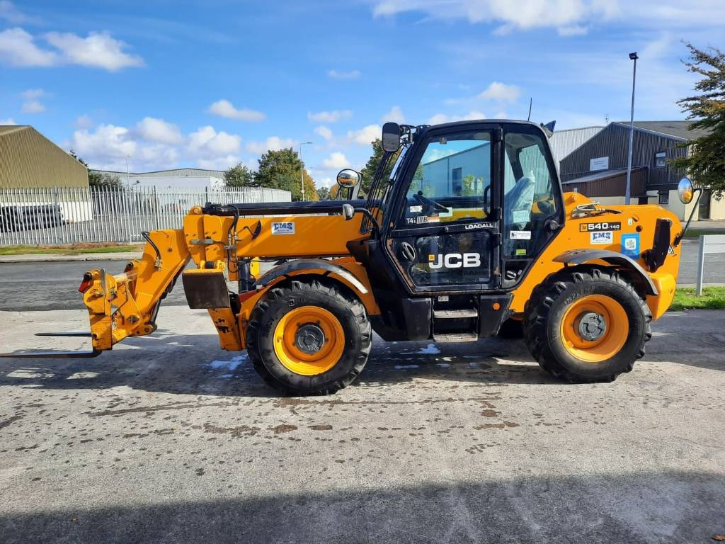JCB 540-140, Telescopic handlers, Construction