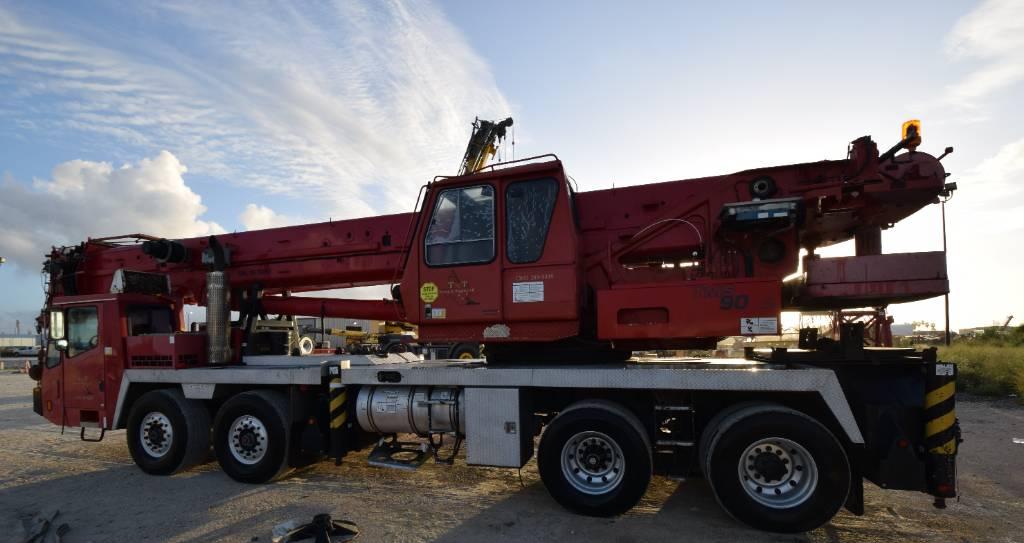Grove TMS900E, All Terrain Cranes and Hydraulic Truck Cranes, Construction Equipment