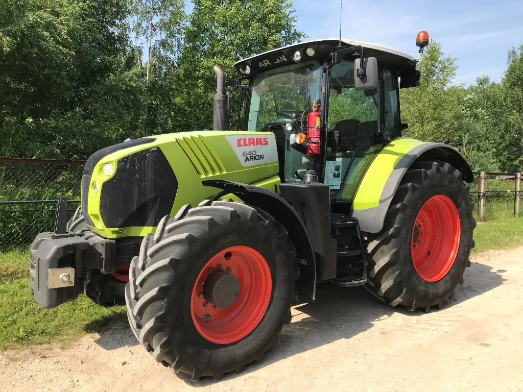 CLAAS Arion 640 CIS, Tractors, Agriculture
