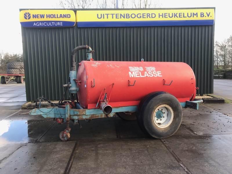 Peecon Melasse tank, Getrokken spuitmachines, Landbouw
