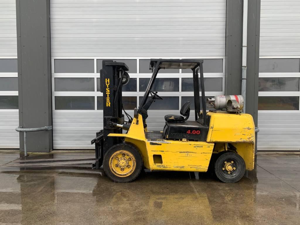 Hyster 4 ton LPG heftruck Hyster H4.00XLS, LPG heftrucks, Laden en lossen