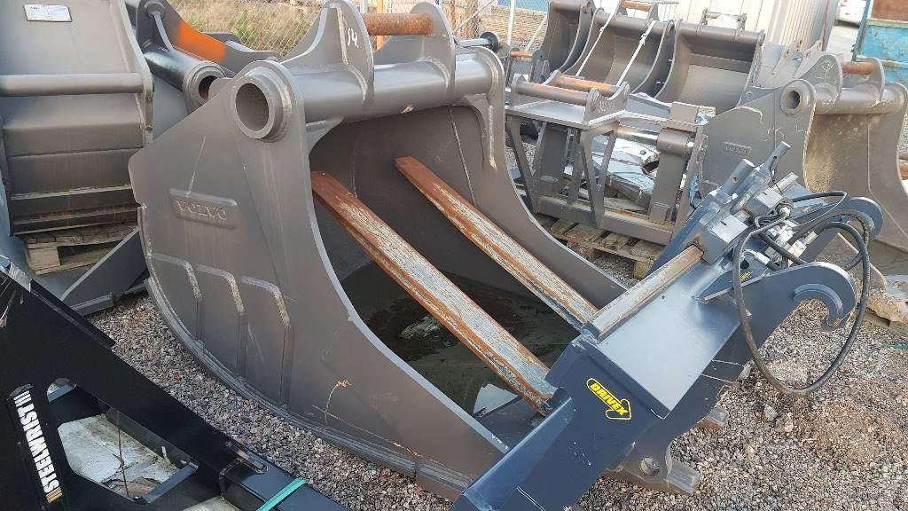 Volvo Bergsskopa, Buckets, Construction Equipment