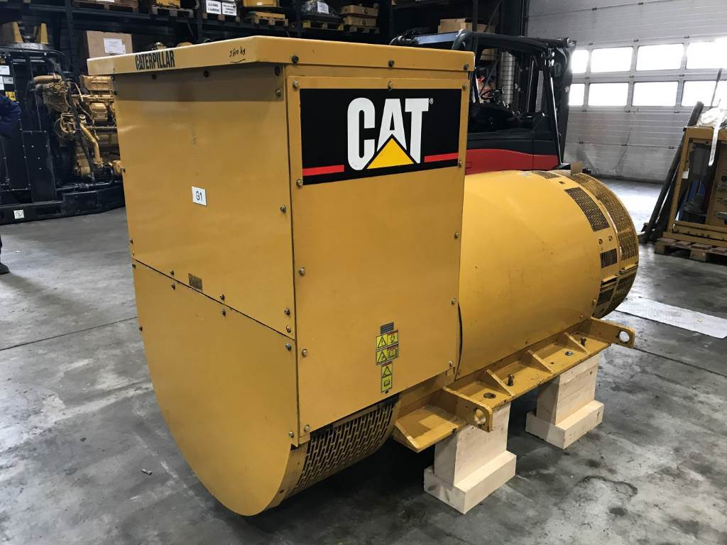 Caterpillar Generator End SR4 - 2200 kW - Arr. 144-1830, Generator Ends, Construction
