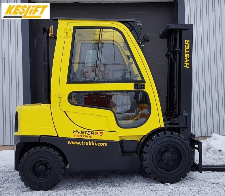Hyster H 2.5 FT, Dieseltrukit, Materiaalinkäsittely