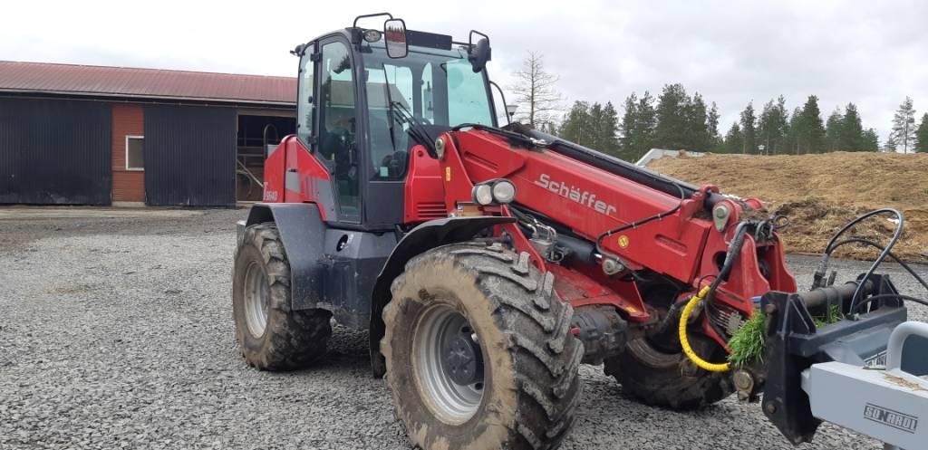 Schäffer 9640 T, Maatalouskurottajat, Maatalous