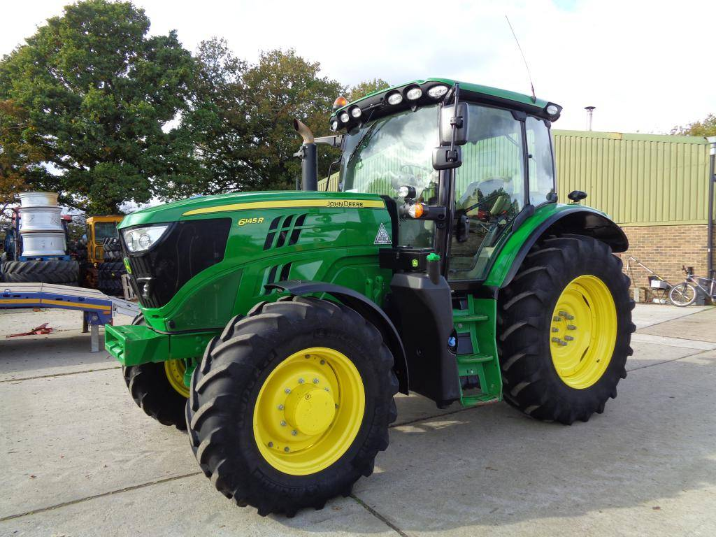 John Deere 6145 R, Tractors, Agriculture