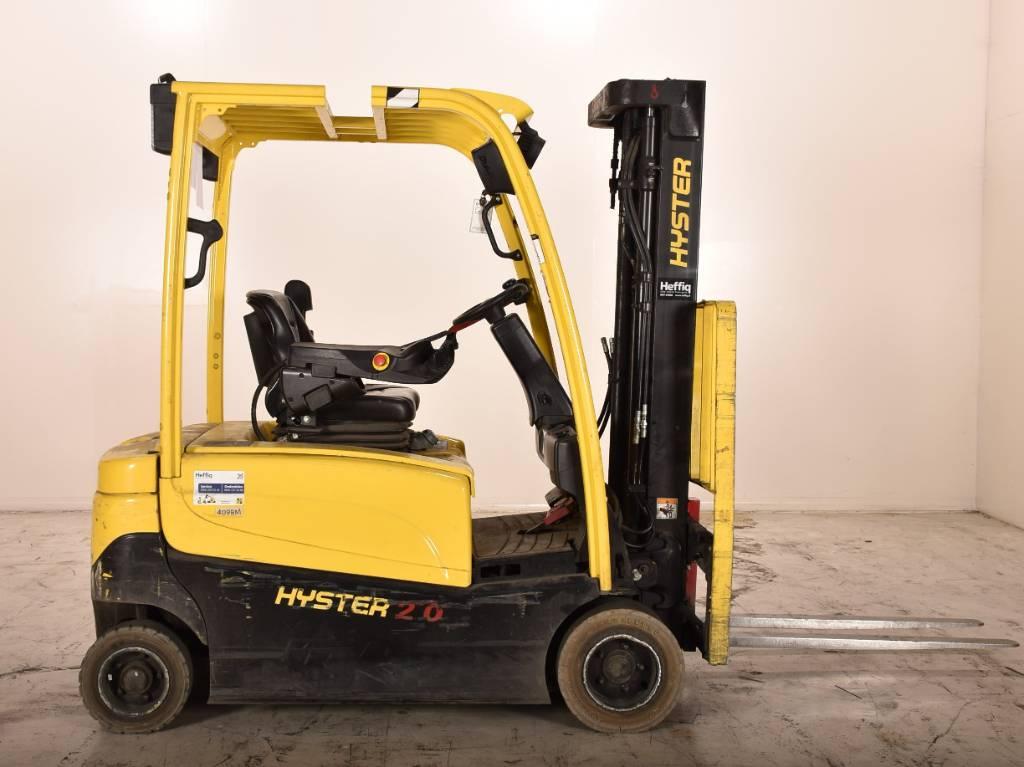 Hyster J2.0XN, Elektrische heftrucks, Laden en lossen