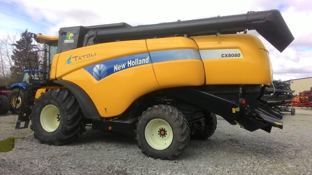 New Holland CX 8080, Kombainid, Põllumajandus