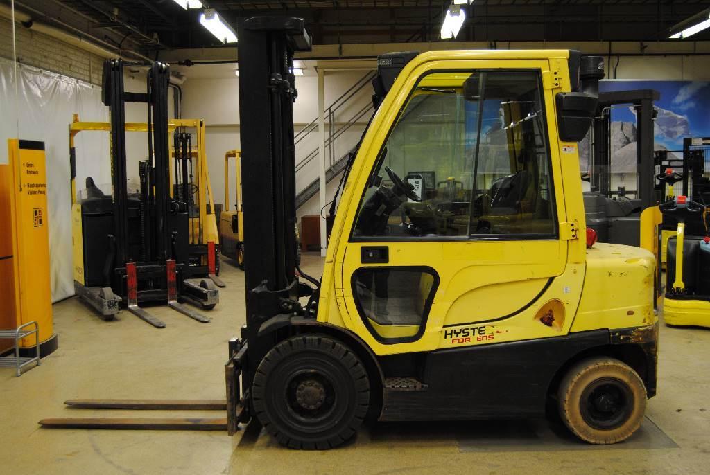Hyster H2,5FT, Dieselmotviktstruckar, Materialhantering
