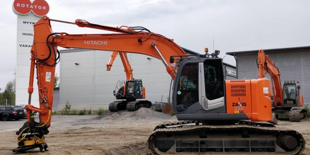 Hitachi ZX225USLC-3, Crawler excavators, Construction