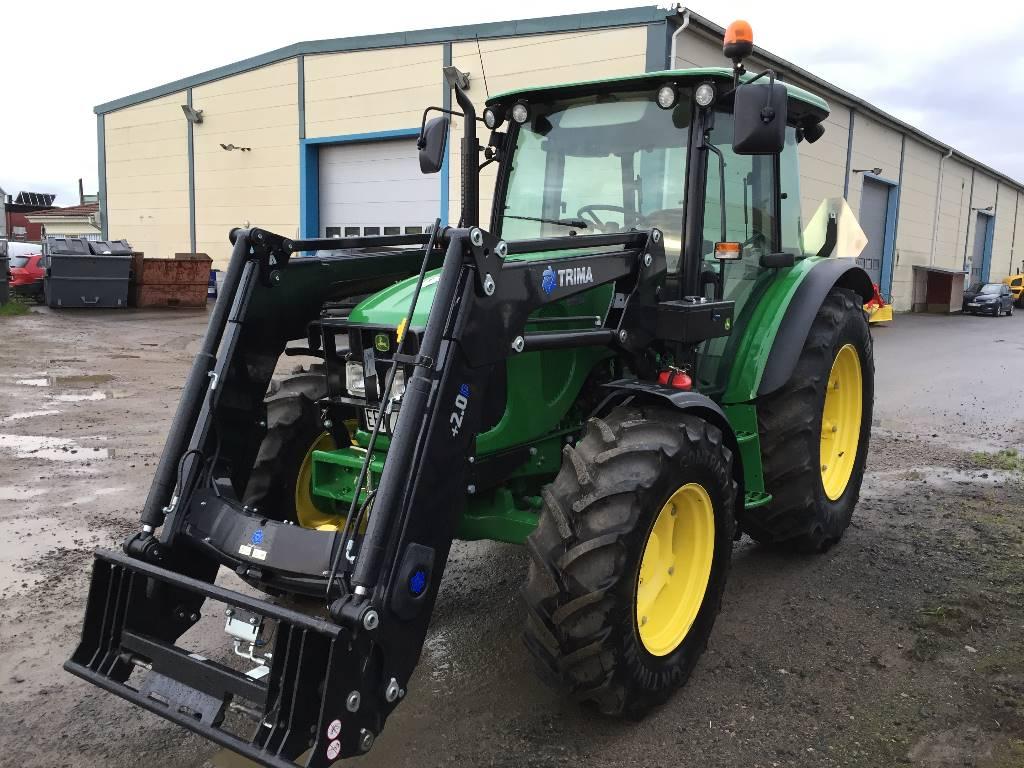 John Deere 5070M, Trima 2.1, Traktorer, Lantbruk
