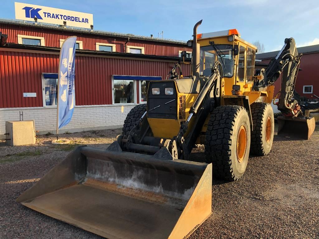 Volvo 6300, Grävlastare, Entreprenad
