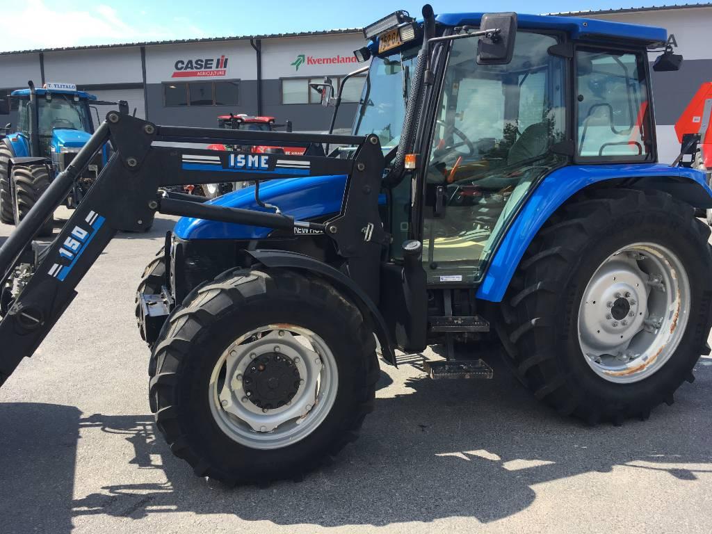 New Holland TL 90 DC PS + etukuormain, Traktorit, Maatalous
