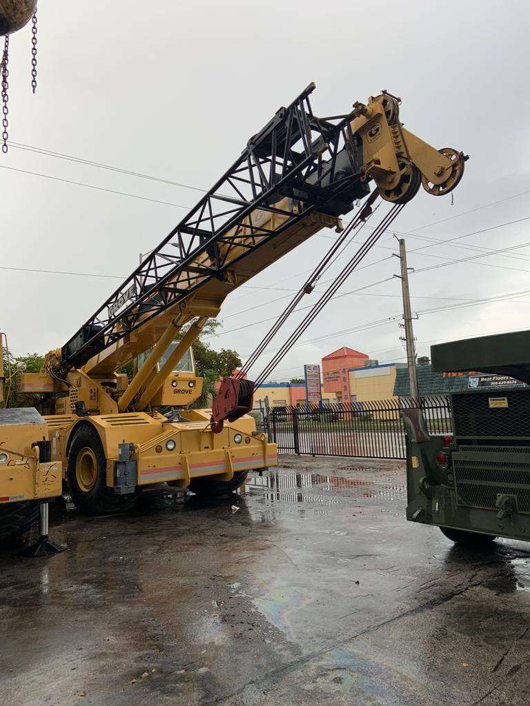 Grove RT 733, Rough Terrain Cranes, Construction Equipment
