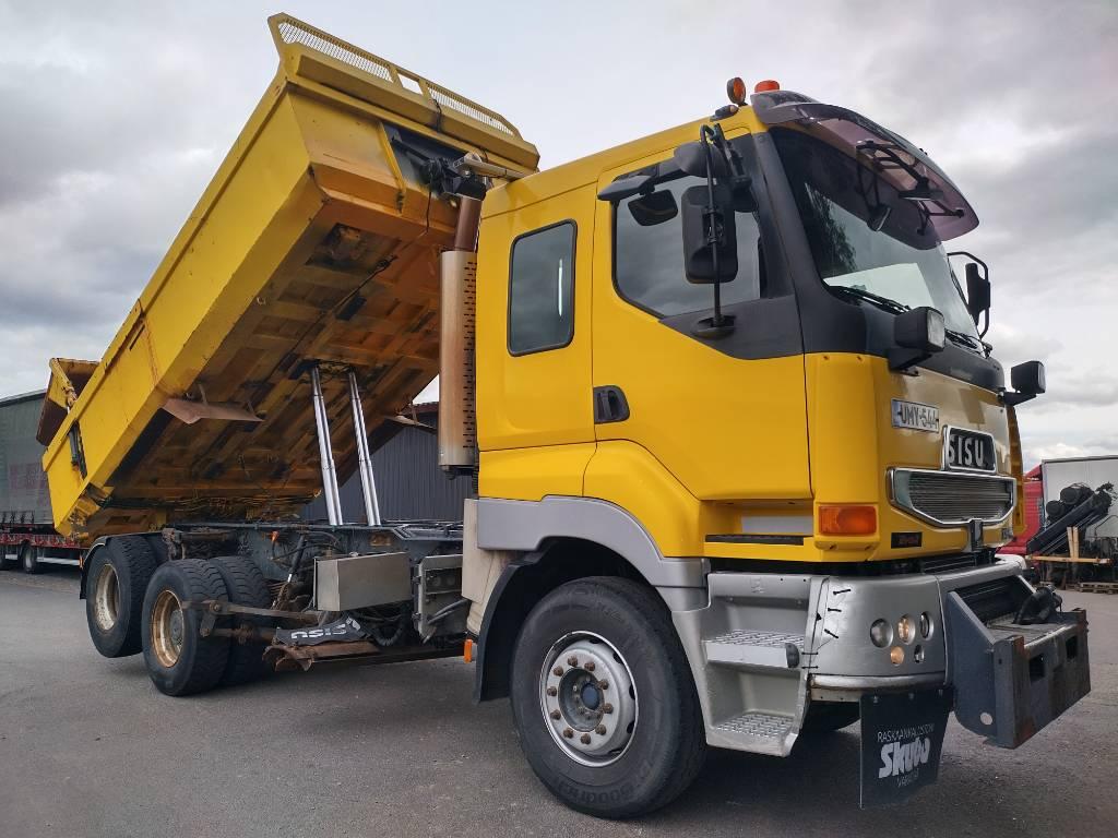 Sisu E12 6x2 kippilava+aurausvarustus, Sora- ja kippiautot, Kuljetuskalusto