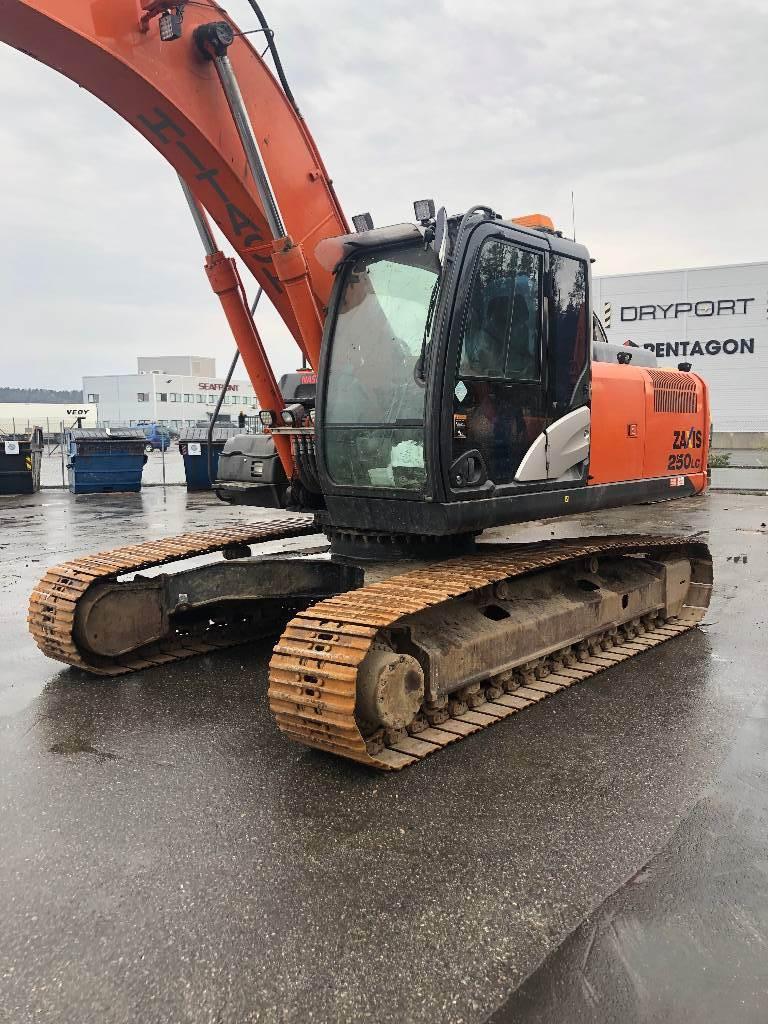 Hitachi ZX 250 LC-5 B, Crawler Excavators, Construction Equipment
