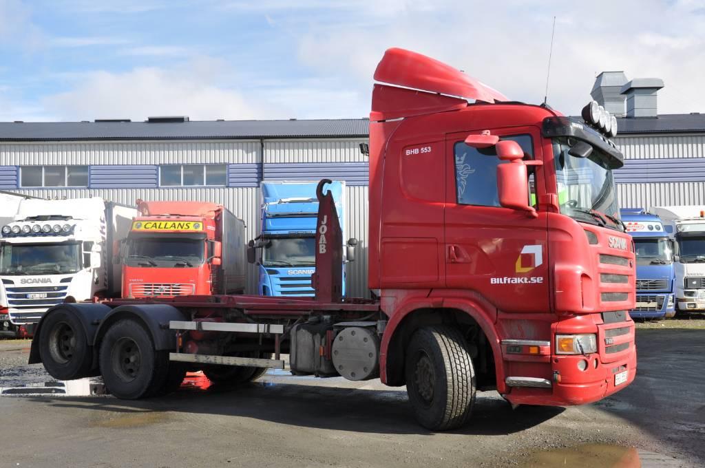 Scania R480 LB 6X2 HHA, Lastväxlare/Krokbilar, Transportfordon