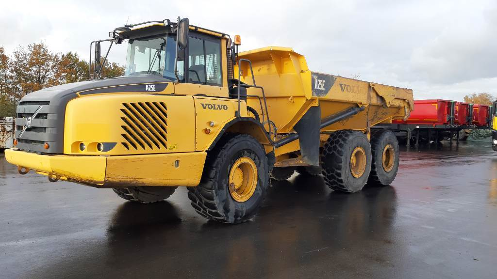 Volvo A 25 E (2pc), Articulated Dump Trucks (ADTs), Construction