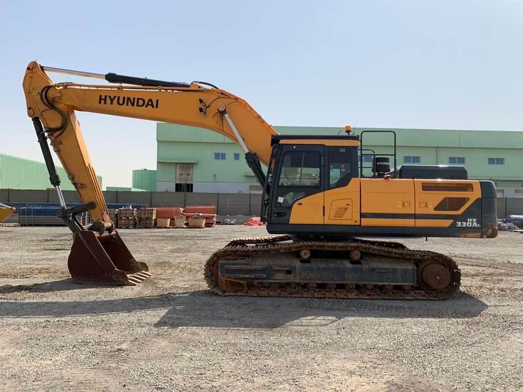 Hyundai HX330LT3, Crawler Excavators, Construction