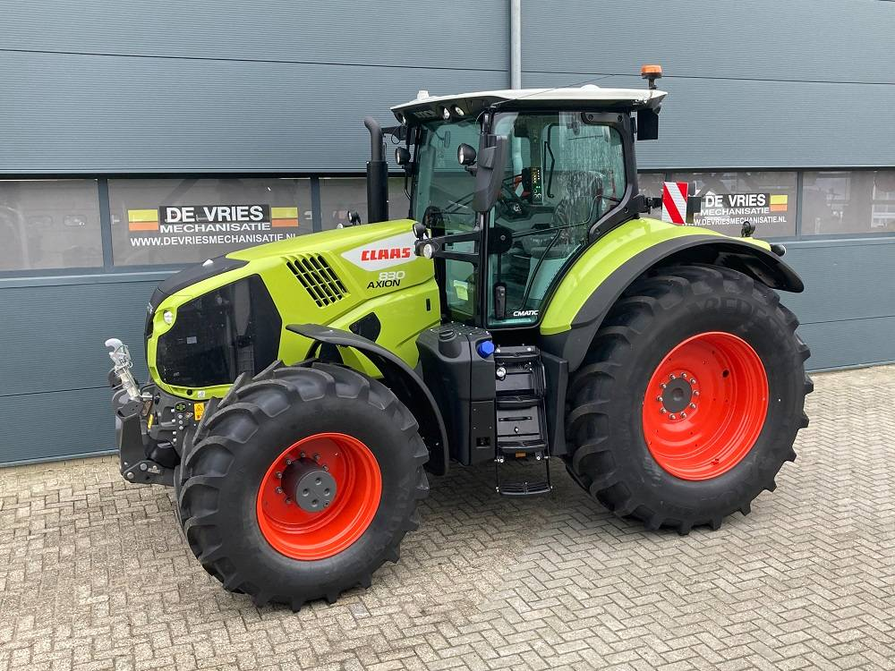 CLAAS AXION 830 C MATIC CEBIS, Tractors, Agriculture
