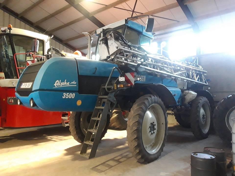 Evrard Alpha Plus 3500, 27m, Zelfrijdende spuitmachines, Landbouw