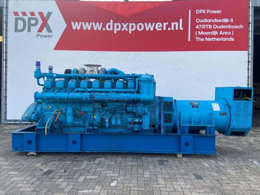 Mitsubishi S16N PTA - 1.000 kVA Generator Set - DPX-12426, Diesel generatoren, Bouw