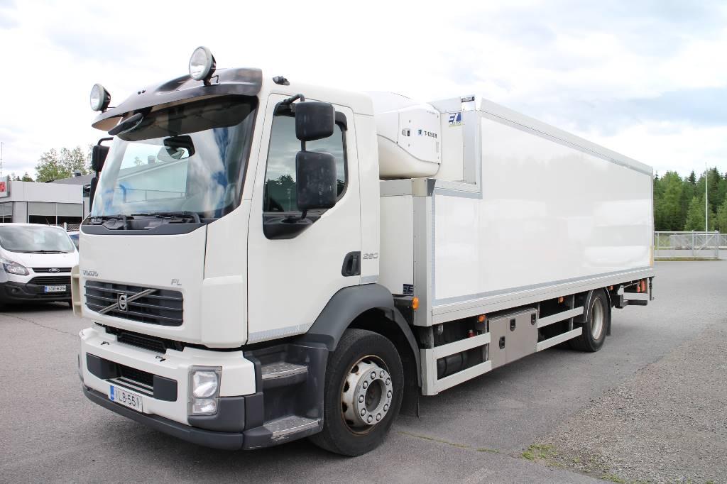 Volvo FL290, Kylmä-/Lämpökori kuorma-autot, Kuljetuskalusto
