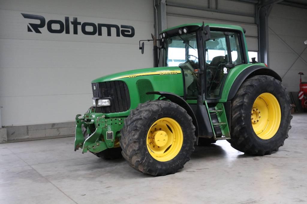 John Deere 6920, Traktory, Maszyny rolnicze